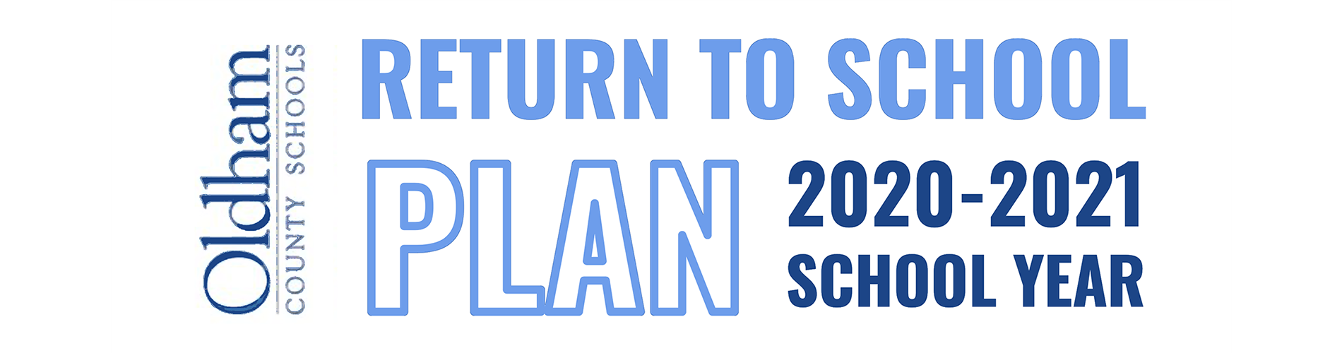 Return to School Plan 2020-2021 School Year